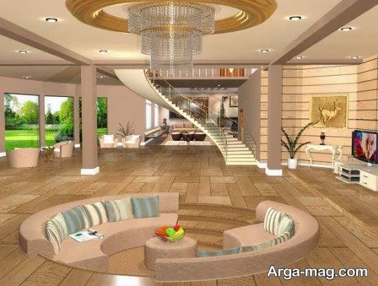 دیزاین شیک خانه دوبلکس