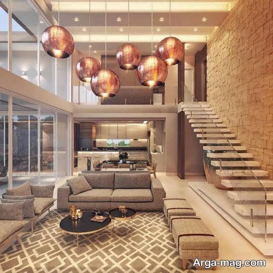مدل دیزاین خانه دوبلکس