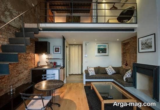 ایده دیزاین خانه دوبلکس