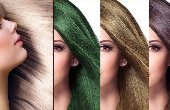 آموزش رنگ كردن مو