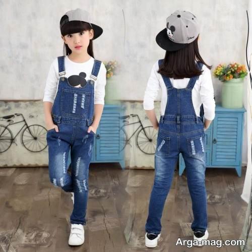 لباس سرهمی مخصوص کودکان دختر