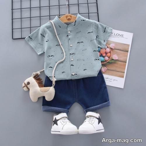 مدل لباس بچه گانه برای عید 99 با طرح اسپرت