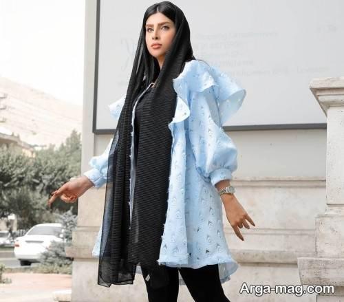 مدل مانتوی زنانه مجلسی