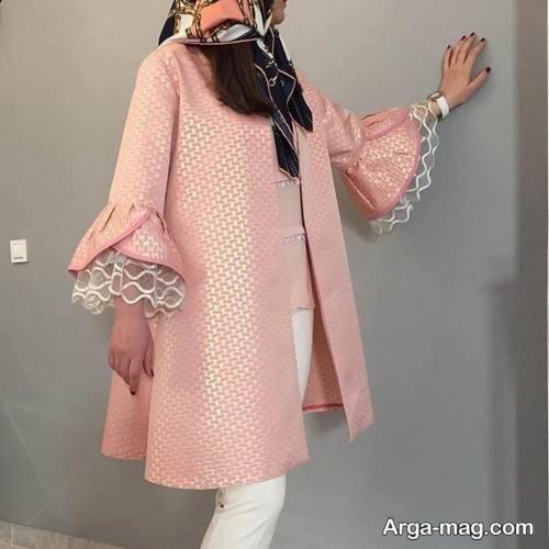 مدل مانتو عید 99 با طرح مجلسی زنانه