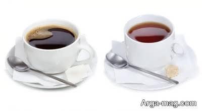 قهوه کافئین فراوان دارد