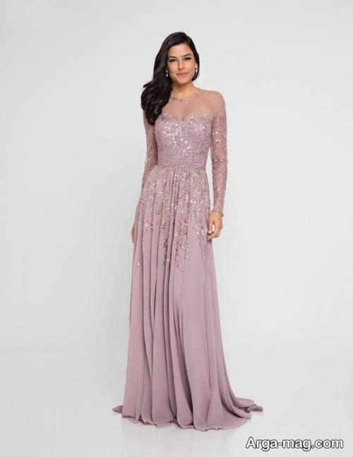 لباس شب زیبا و شیک دخترانه