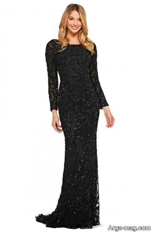 لباس شب پوشیده