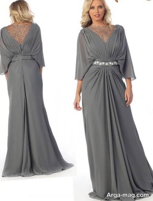 لباس شب طوسی