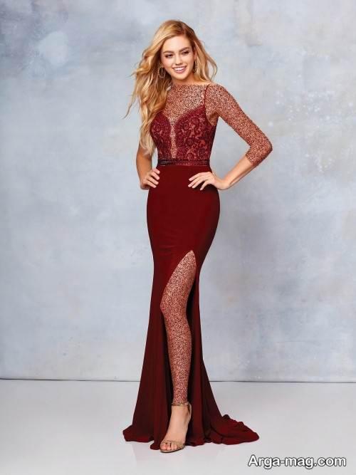 لباس رسمی و بلند زنانه