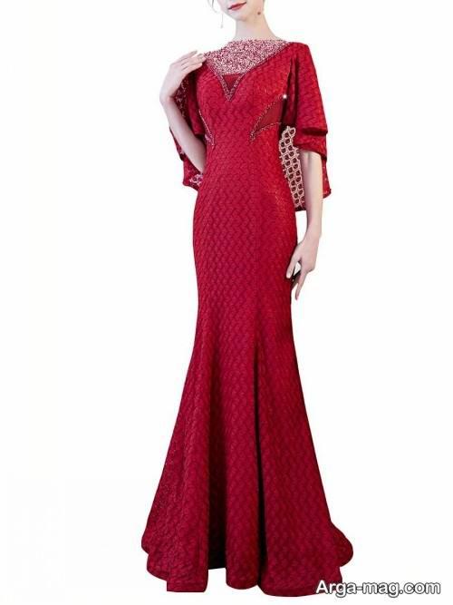 مدل لباس شب بلند و زیبا