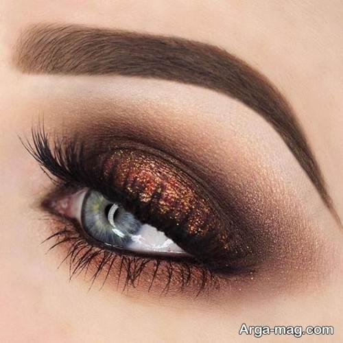طرح سایه چشم زنانه