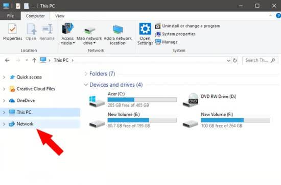 انتقال فایل میان دو کامپیوتر توسط کابل