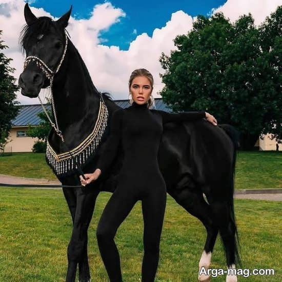 سری اول ژست عکس با اسب