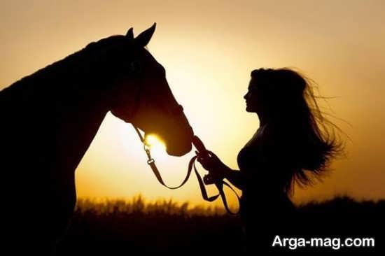 سری جدید ژست عکس با اسب