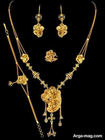 ست طلا زنانه