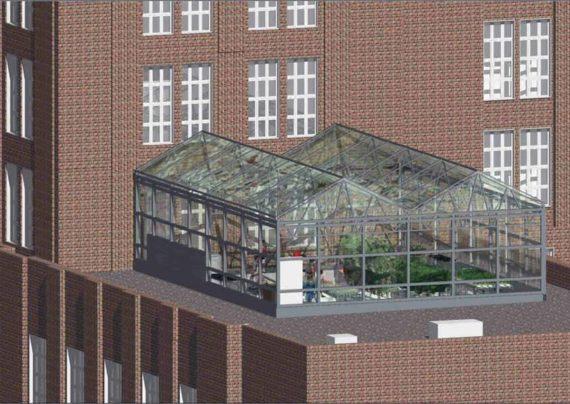 چگونگی ایجاد گلخانه در پشت بام