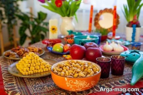 دیزاین هفت سین برای عید نوروز