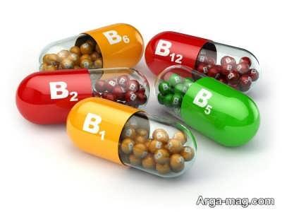 اثر ویتامین B بر پشت شدن موی جلوی سر