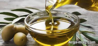 مصرف روغن زیتون در براق کردن مو