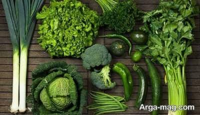 اثر سبزیجات برگ سبز بر پر پشت شدن موی جلوی سر