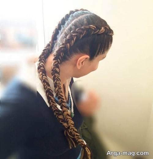 بافت موی زیبا