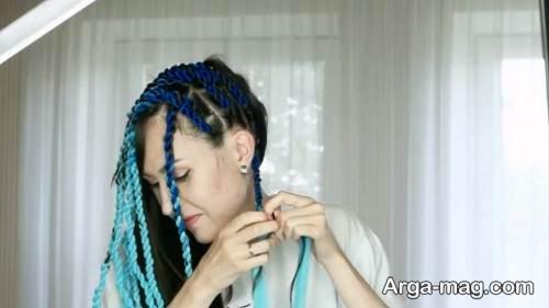 بافت مو با کاموا با متدهای جدید