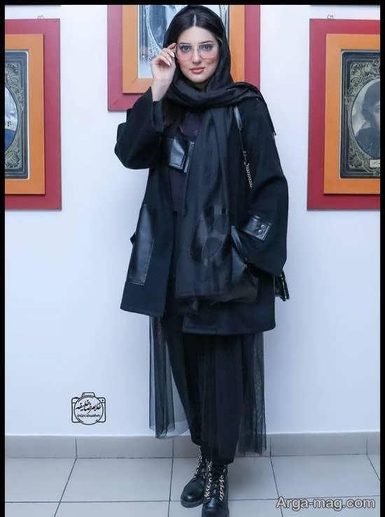 هلیا امامی در اکران خصوصی فیلم«اولین امضا برای رعنا»