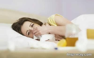 درمان طبیعی برای خلاصی از ویروس آنفولانزا
