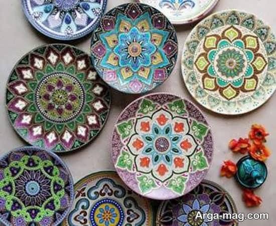 ظروف سفالی تزئینی و زیبا