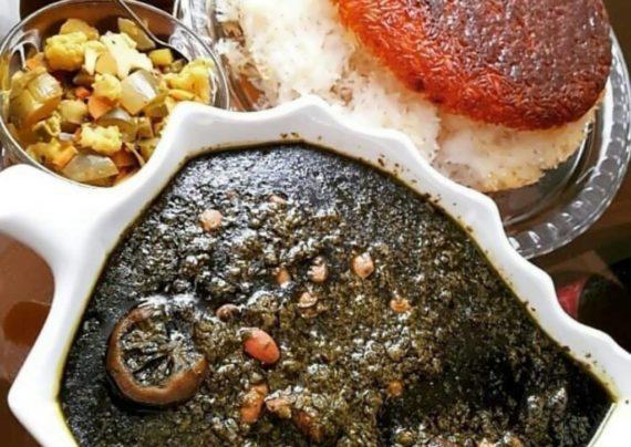 طرز تهیه قورمه سبزی آذری خوش طعم و لذیذ