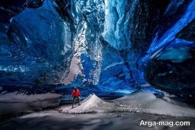 غارهای یخی چشم نواز واتنایوکول