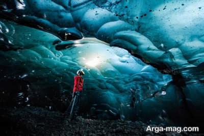غارهای یخی و زیبای واتنایوکول