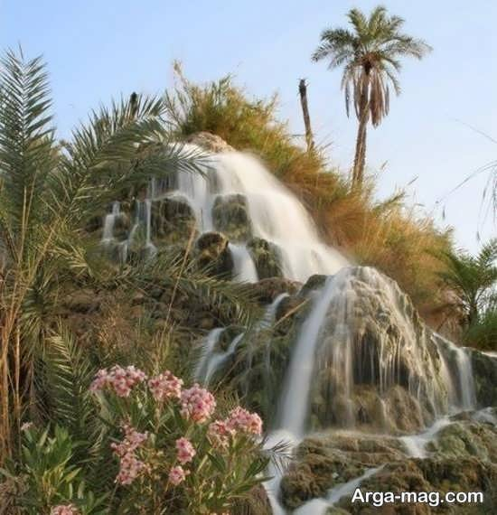 بررسی آبشار تزرج