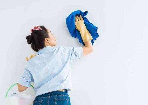 تمیز کرن کاغذ دیواری با مایع
