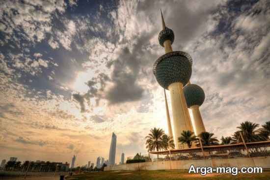 نمای دیدنی کویت