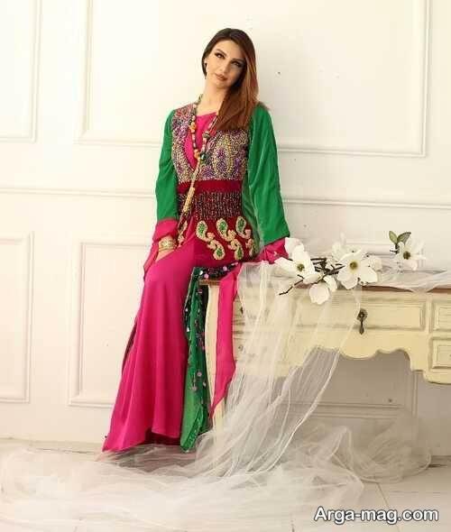 لباس زنانه کرد