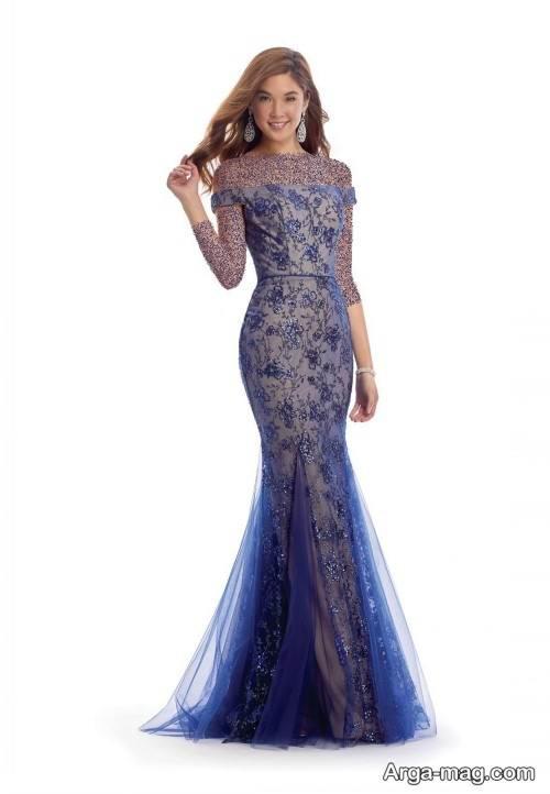 مدل لباس مجلسی بلند و خاص زنانه