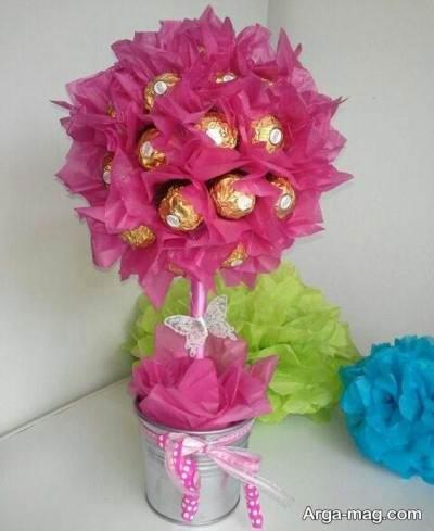 تزیین دسته گل برای روز عشق   آموزش ساخت هدیه ولنتاین با ۳ روش مختلف  نحوه ساختن هدیه برای روز ولنتاین  ساخت قلب تزیینی  ساخت دسته گل شکلاتی زیب
