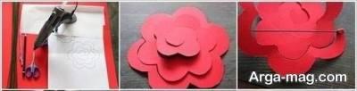 آموزش ساخت دسته گل رز برای روز عشق