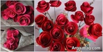 ساختن کادو برای روز عشق ساخت دسته گل شکلاتی زیبا