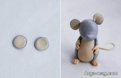 ساخت گوش عروسک موش