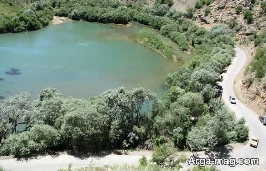 دریاچه مارمیشو کجا قرار دارد؟