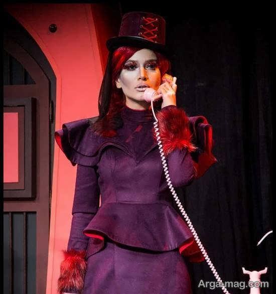 گریم عجیب و متفاوت متین ستوده در نمایش «دراکولای سفید»
