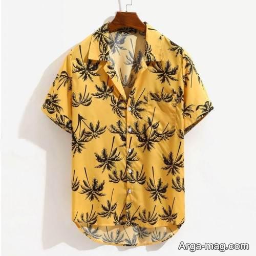 مدل پیراهن مردانه 99 طرح دار