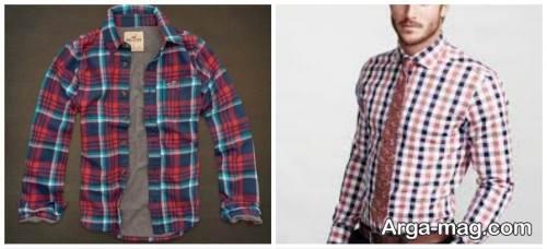 پیراهن طرح دار و خاص مردانه