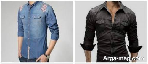 طرح پیراهن مردانه