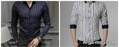 پیراهن راه راه مردانه 1399
