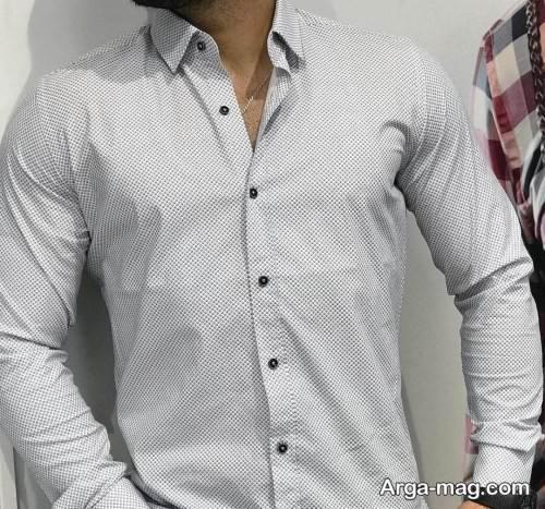 پیراهن زیبا و ساده مردانه در سال 99