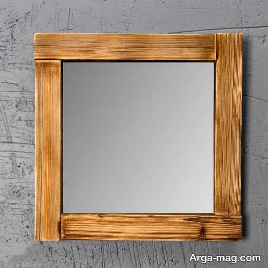 درست کردن قاب آینه با طرح ساده