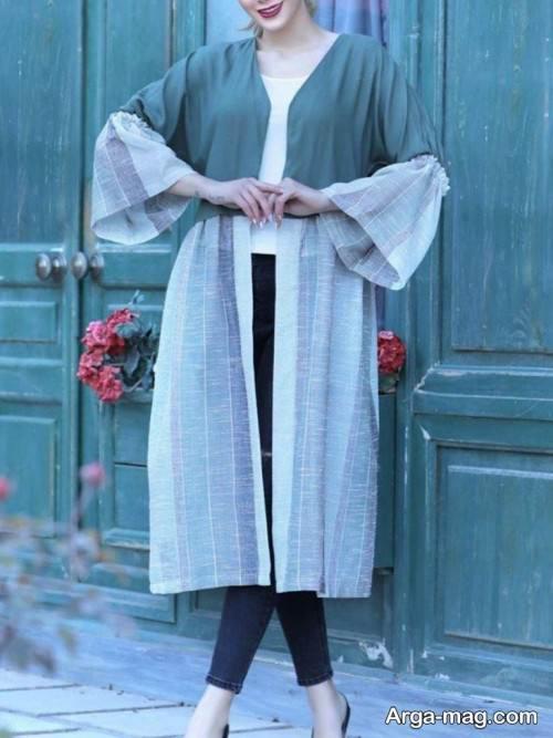۶۷ مدل مانتو دخترانه عید ۹۹ با انواع استایل های شیک و جذاب